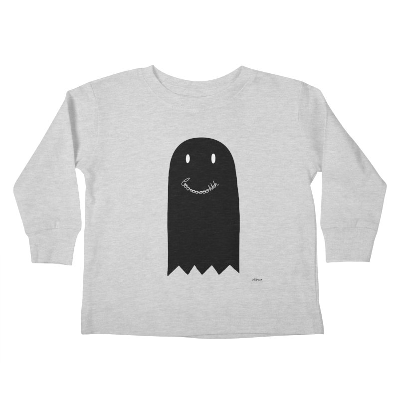 Boooh Kids Toddler Longsleeve T-Shirt by villaraco's Artist Shop