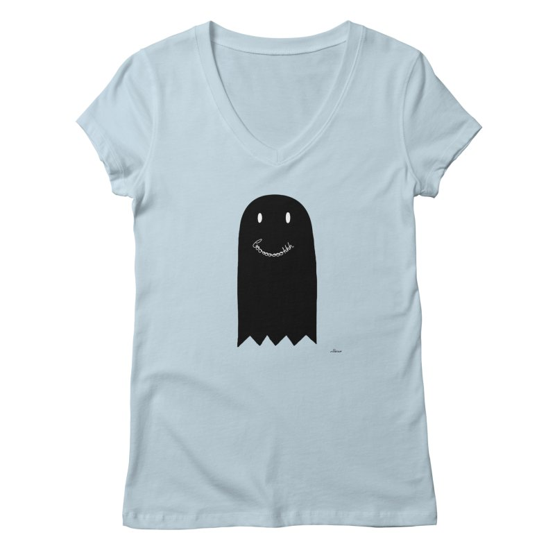 Boooh Women's V-Neck by villaraco's Artist Shop