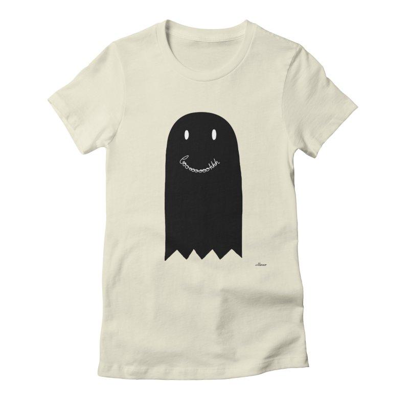 Boooh Women's Fitted T-Shirt by villaraco's Artist Shop