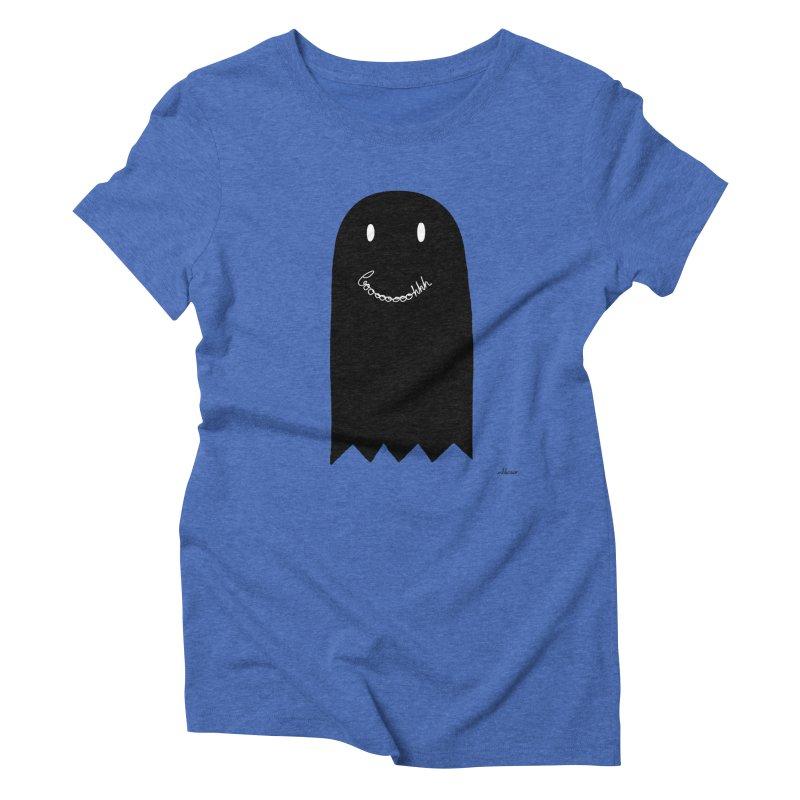 Boooh Women's Triblend T-Shirt by villaraco's Artist Shop