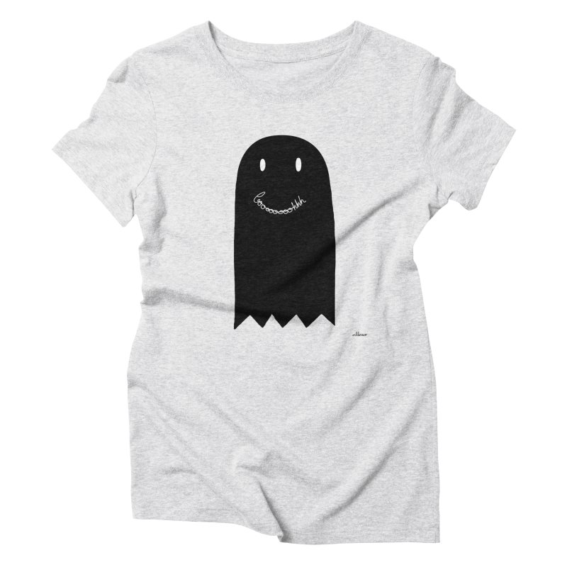 Boooh Women's Triblend T-Shirt by villaraco's Artist Shop