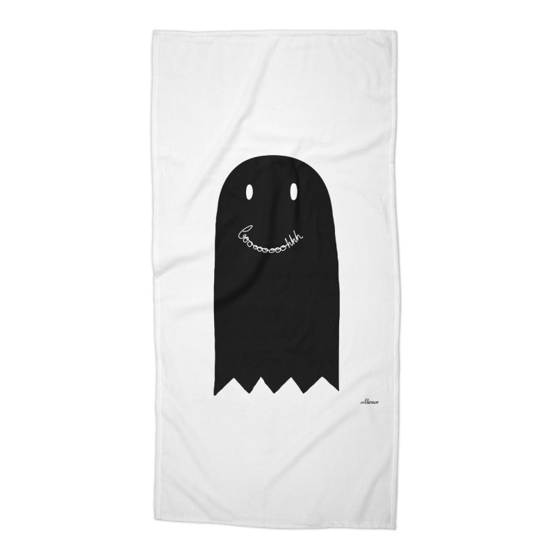 Boooh Accessories Beach Towel by villaraco's Artist Shop