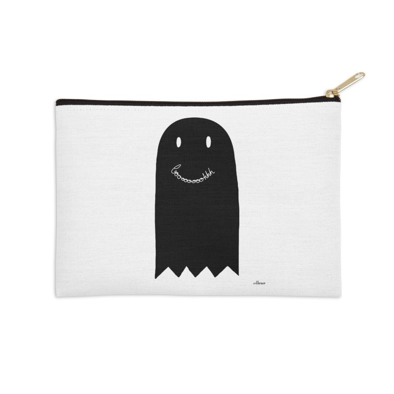 Boooh Accessories Zip Pouch by villaraco's Artist Shop