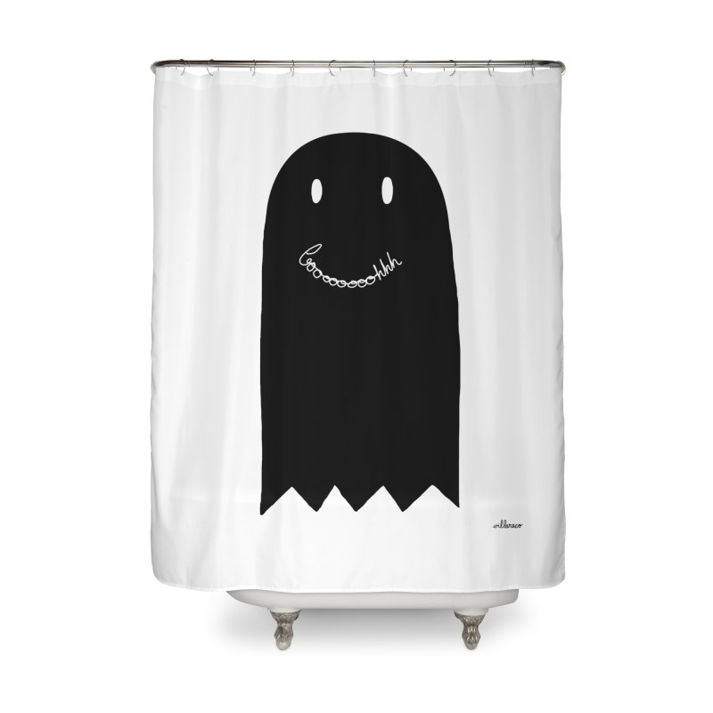 Boooh Home Shower Curtain by villaraco's Artist Shop