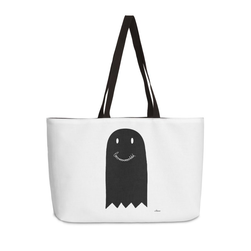 Boooh Accessories Weekender Bag Bag by villaraco's Artist Shop