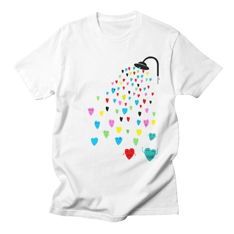 Love Shower Men's T-Shirt by villaraco's Artist Shop