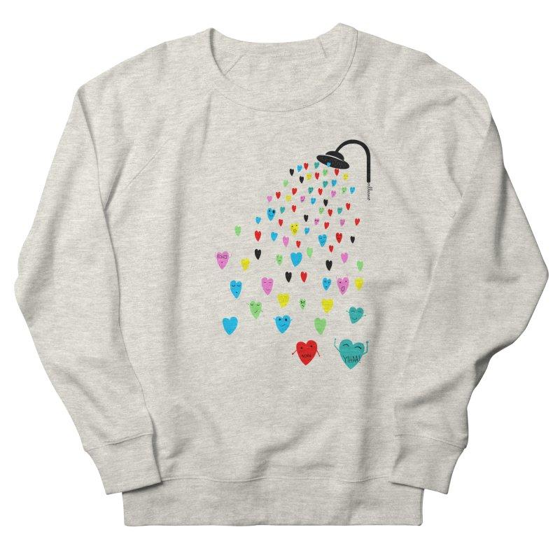 Love Shower Women's Sweatshirt by villaraco's Artist Shop