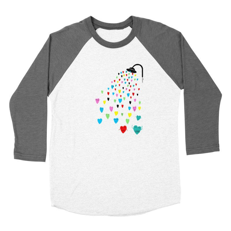 Love Shower Men's Longsleeve T-Shirt by villaraco's Artist Shop