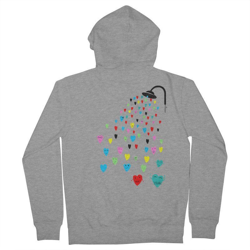 Love Shower Women's Zip-Up Hoody by villaraco's Artist Shop