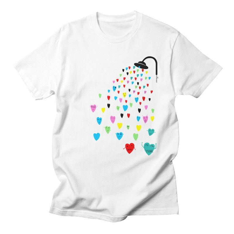 Love Shower Men's T-Shirt by villaraco's Artist Shop