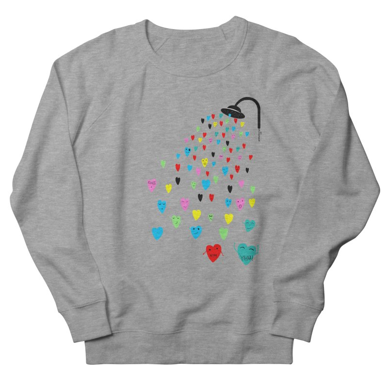 Love Shower Women's French Terry Sweatshirt by villaraco's Artist Shop