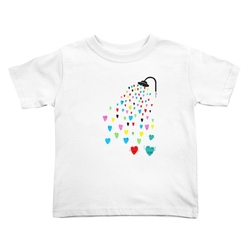 Love Shower Kids Toddler T-Shirt by villaraco's Artist Shop