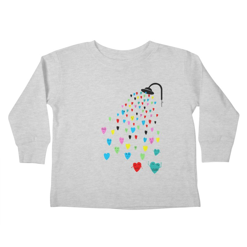 Love Shower Kids Toddler Longsleeve T-Shirt by villaraco's Artist Shop