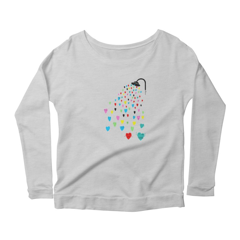 Love Shower Women's Longsleeve T-Shirt by villaraco's Artist Shop