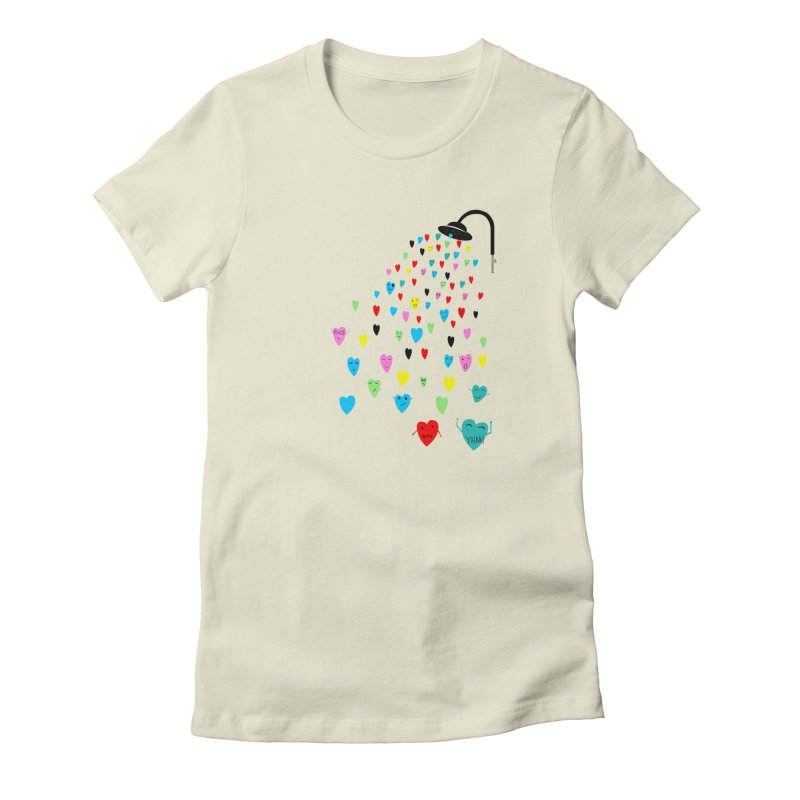 Love Shower Women's T-Shirt by villaraco's Artist Shop