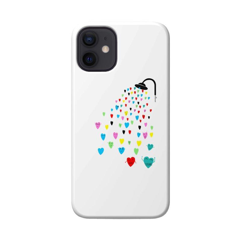 Love Shower Accessories Phone Case by villaraco's Artist Shop