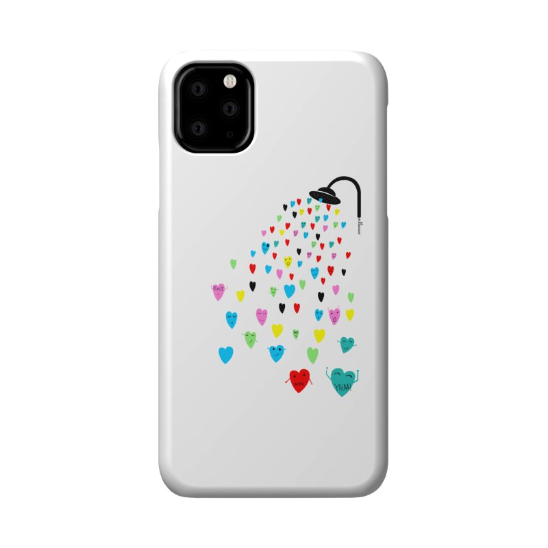 Love Shower Accessories Phone Case by villaraco's Artist Shop