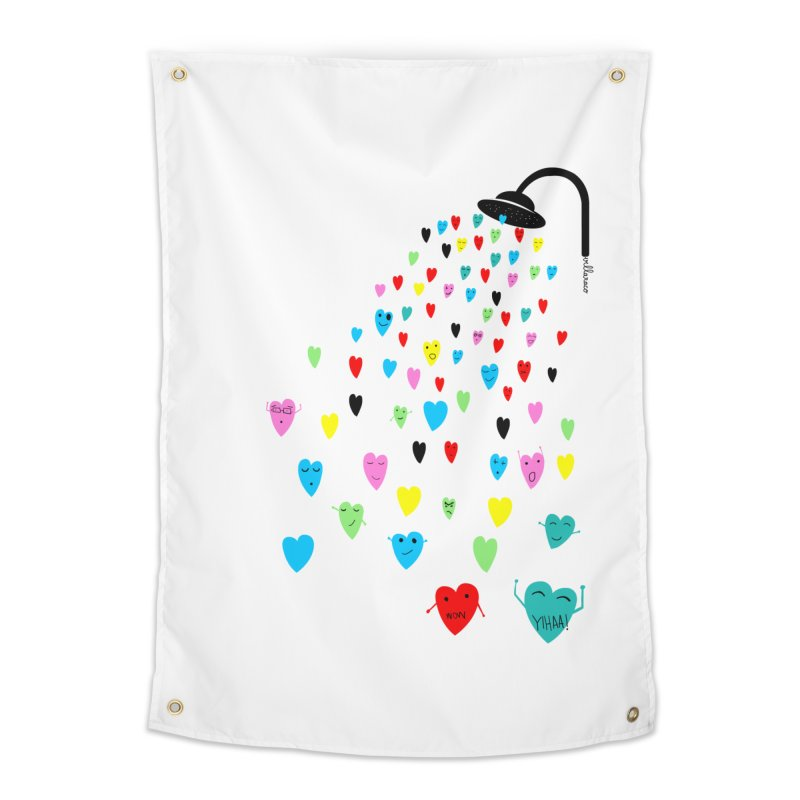 Love Shower Home Tapestry by villaraco's Artist Shop