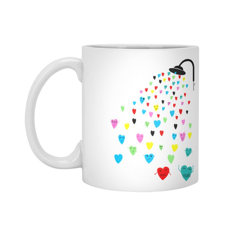 Love Shower Accessories Mug by villaraco's Artist Shop