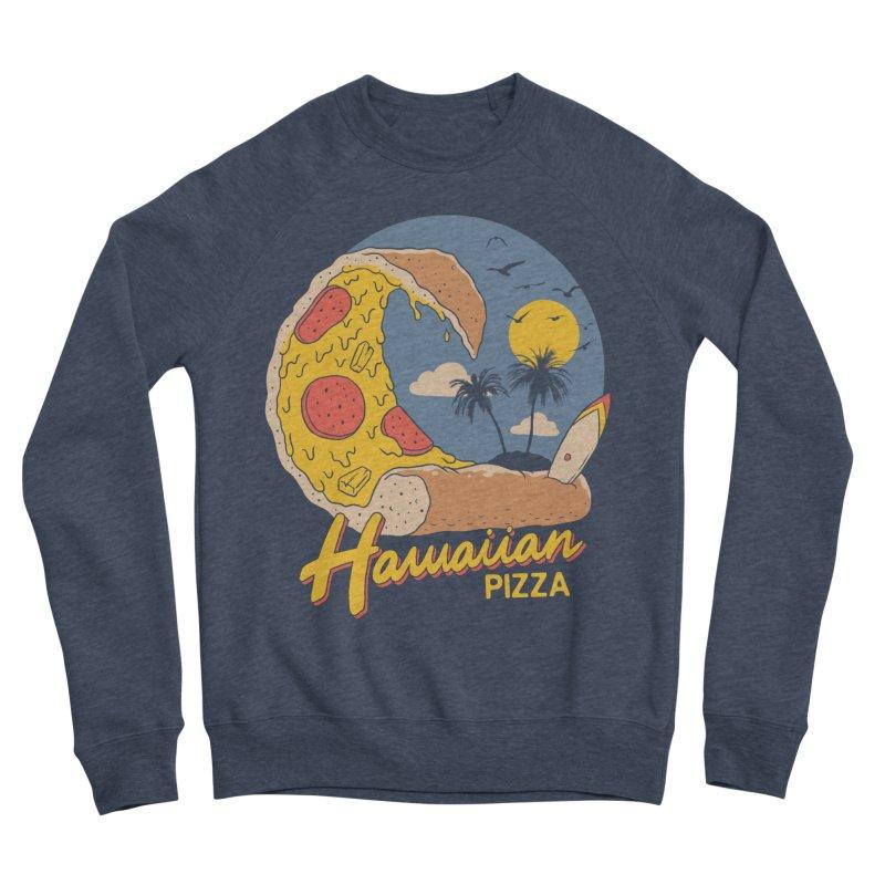 Hawaiian Pizza Women's Sponge Fleece Sweatshirt by Vincent Trinidad Art