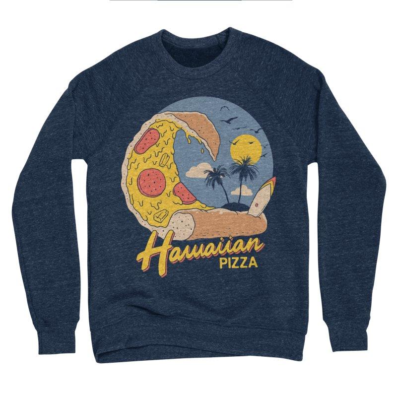 Hawaiian Pizza Men's Sponge Fleece Sweatshirt by Vincent Trinidad Art