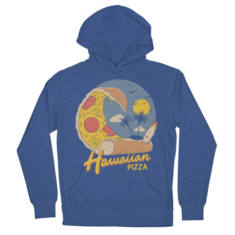 Hawaiian Pizza Women's French Terry Pullover Hoody by Vincent Trinidad Art