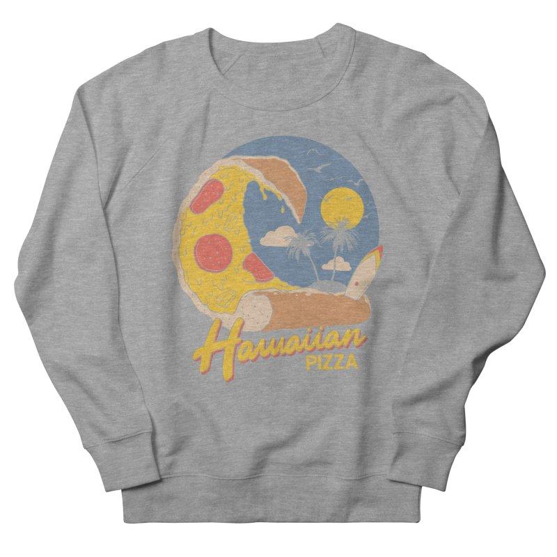 Hawaiian Pizza Men's French Terry Sweatshirt by Vincent Trinidad Art