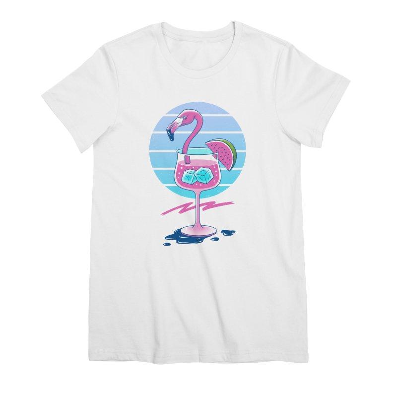 Tropical Chill Wave Women's Premium T-Shirt by Vincent Trinidad Art