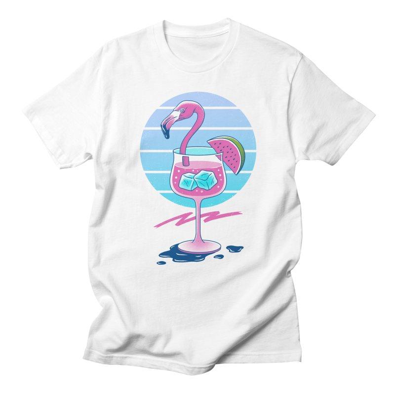 Tropical Chill Wave Women's Regular Unisex T-Shirt by Vincent Trinidad Art