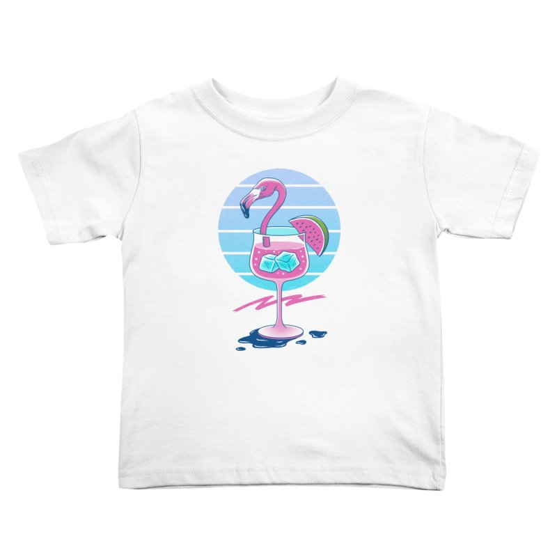 Tropical Chill Wave Kids Toddler T-Shirt by Vincent Trinidad Art