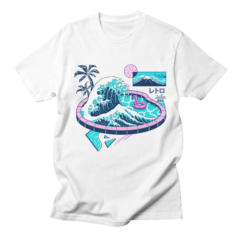 Vapor Wave Pool Women's Regular Unisex T-Shirt by Vincent Trinidad Art