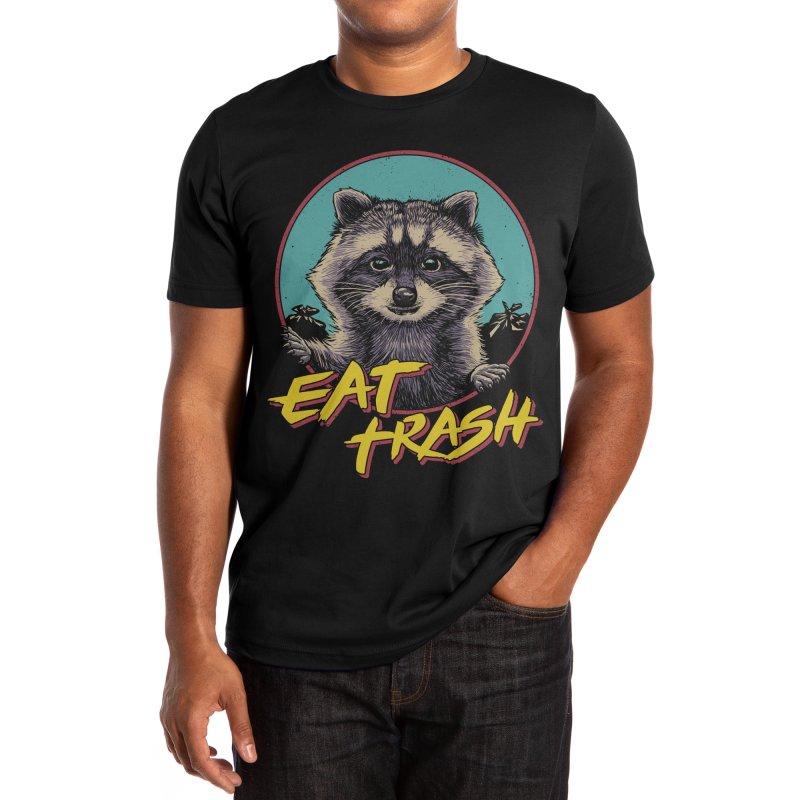 Eat Trash Men's T-Shirt by Vincent Trinidad Art