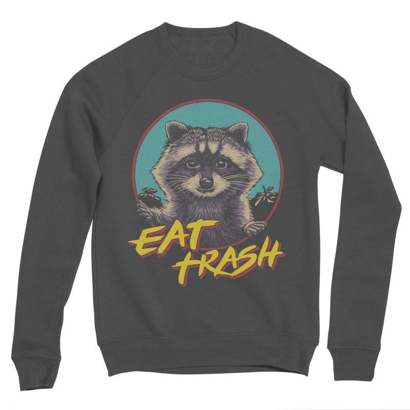 Eat Trash Women's Sponge Fleece Sweatshirt by Vincent Trinidad Art