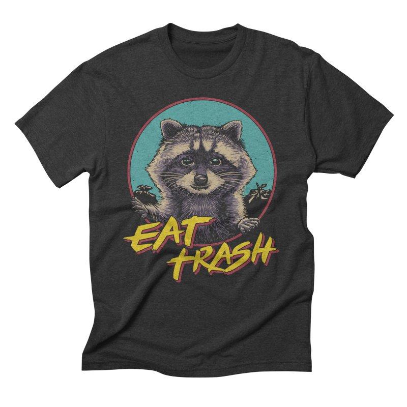 Eat Trash Men's Triblend T-Shirt by Vincent Trinidad Art