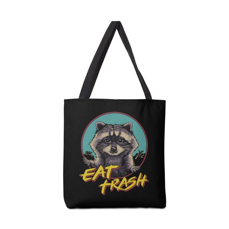 Eat Trash Accessories Tote Bag Bag by Vincent Trinidad Art