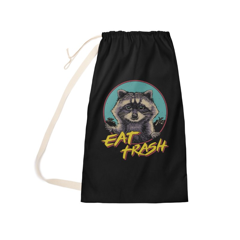 Eat Trash Accessories Laundry Bag Bag by Vincent Trinidad Art
