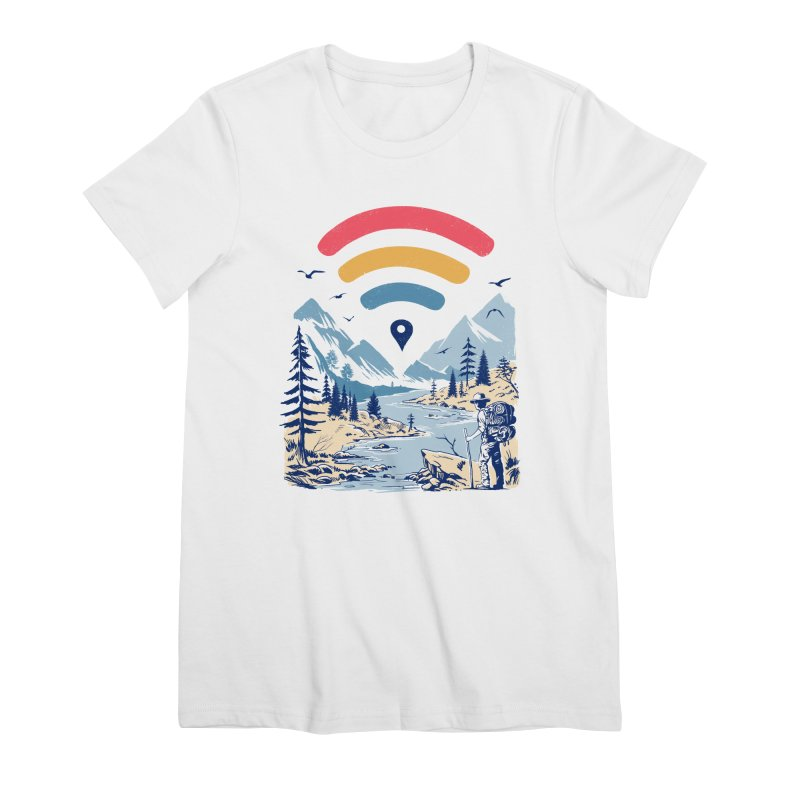 Internet Explorer Women's Premium T-Shirt by Vincent Trinidad Art