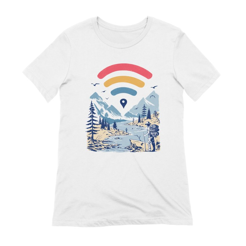 Internet Explorer Women's Extra Soft T-Shirt by Vincent Trinidad Art