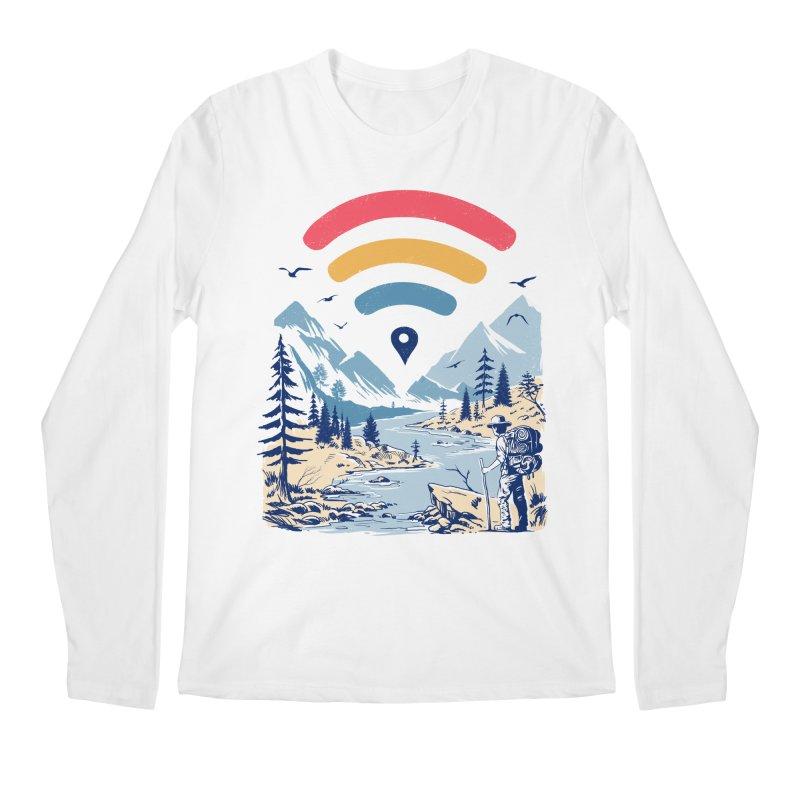 Internet Explorer Men's Regular Longsleeve T-Shirt by Vincent Trinidad Art