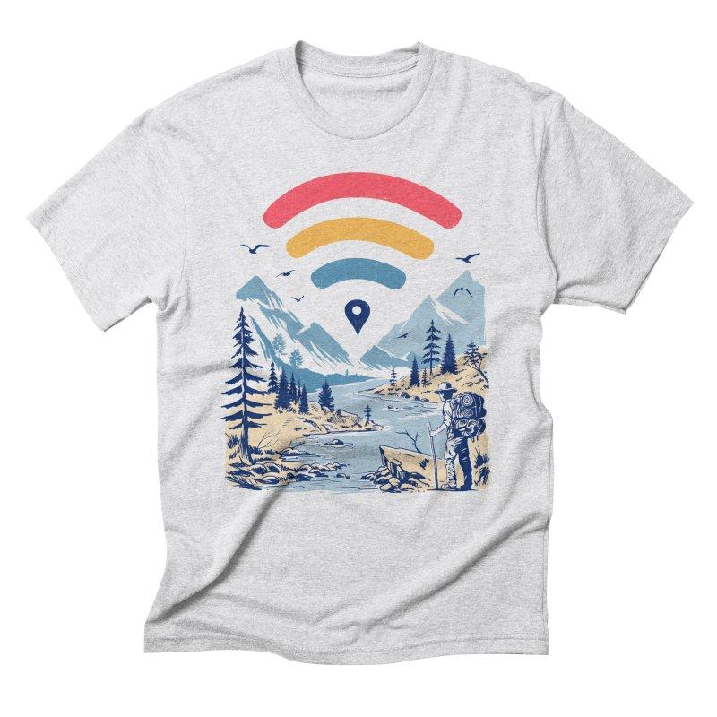 Internet Explorer Men's Triblend T-Shirt by Vincent Trinidad Art