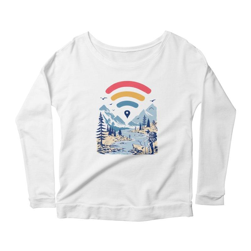 Internet Explorer Women's Scoop Neck Longsleeve T-Shirt by Vincent Trinidad Art