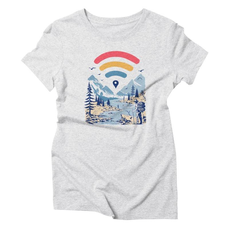 Internet Explorer Women's Triblend T-Shirt by Vincent Trinidad Art