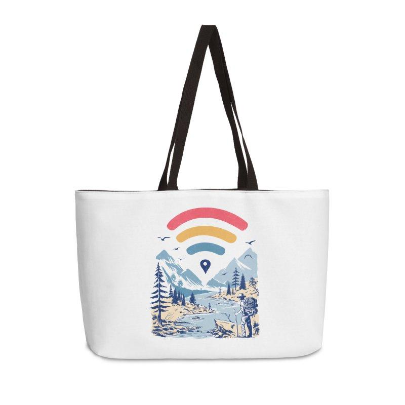 Internet Explorer Accessories Weekender Bag Bag by Vincent Trinidad Art
