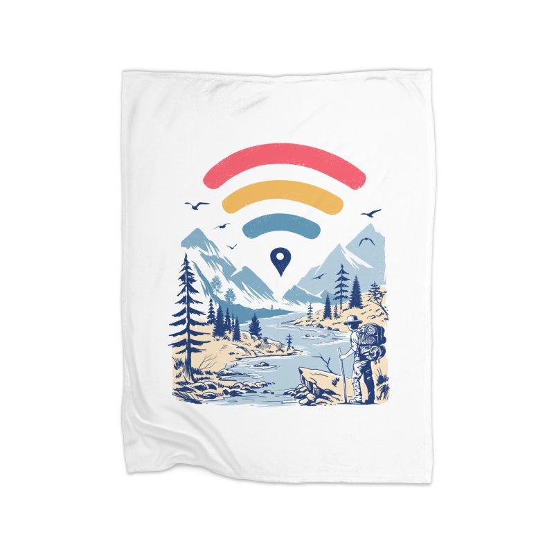 Internet Explorer Home Fleece Blanket Blanket by Vincent Trinidad Art