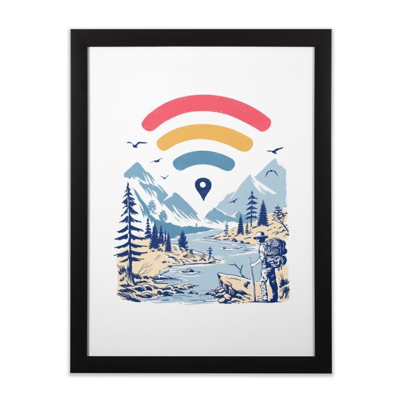 Internet Explorer Home Framed Fine Art Print by Vincent Trinidad Art