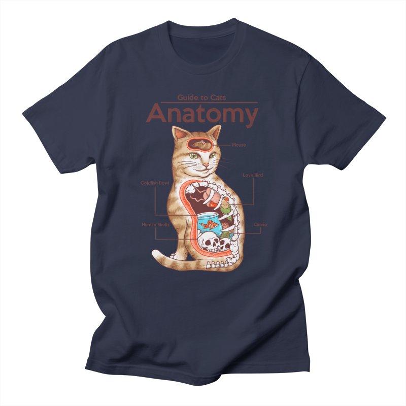 Anatomy of Cats Women's Regular Unisex T-Shirt by Vincent Trinidad Art