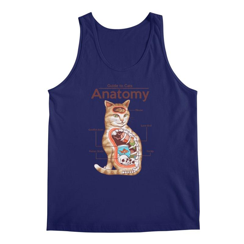 Anatomy of Cats Men's Regular Tank by Vincent Trinidad Art