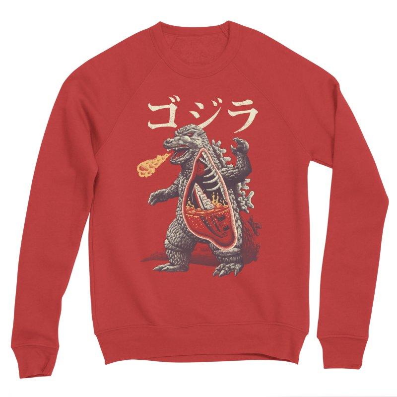 A Kaiju's Anatomy Men's Sponge Fleece Sweatshirt by Vincent Trinidad Art