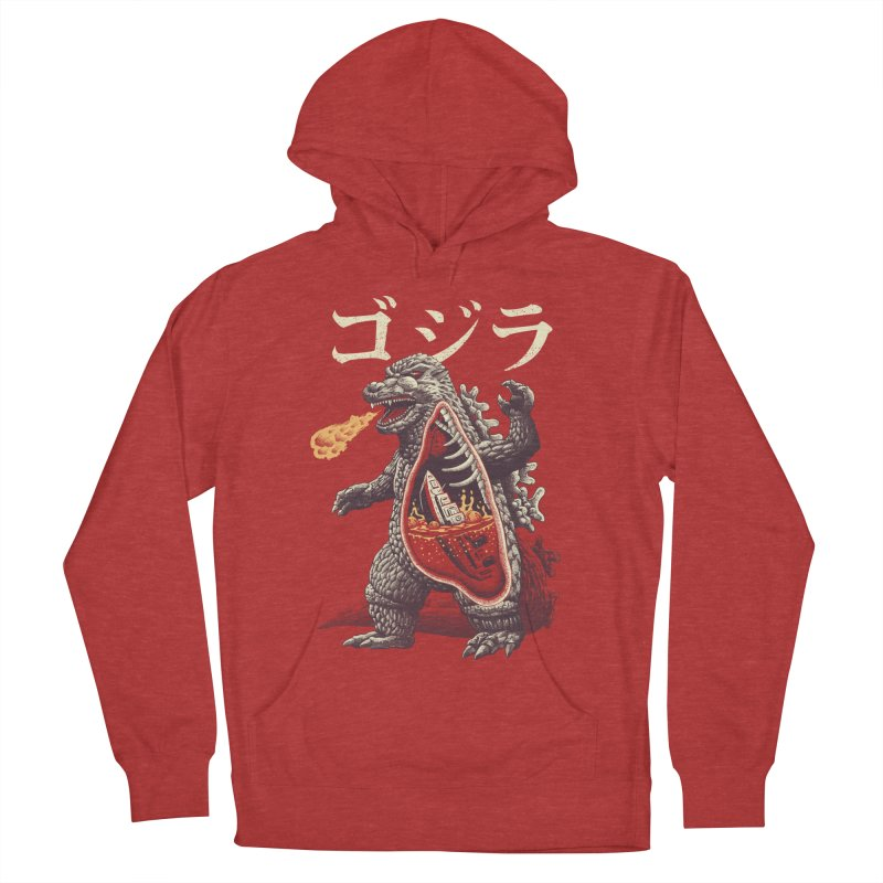 A Kaiju's Anatomy Men's French Terry Pullover Hoody by Vincent Trinidad Art