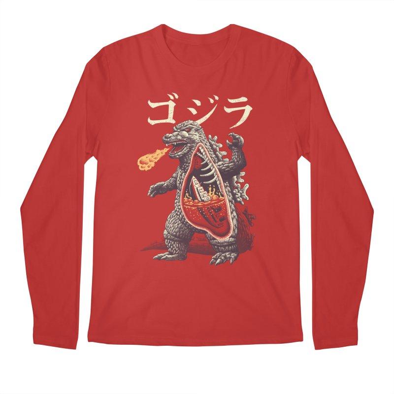 A Kaiju's Anatomy Men's Regular Longsleeve T-Shirt by Vincent Trinidad Art
